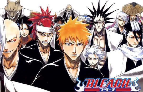Bleach entre os melhores animes da historia