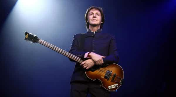 Paul McCartney entre os músicos mais ricos do mundo