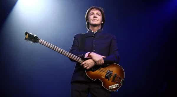 Paul McCartney entre os melhores baixistas do mundo
