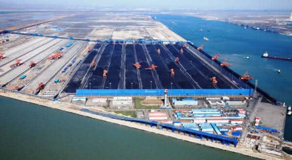 Qinhuangdao entre os maiores portos do mundo