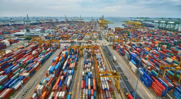 cingapura entre os maiores portos do mundo