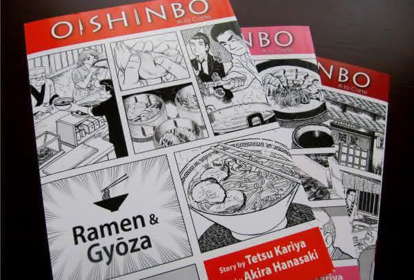 oishinbo entre os mangas mais vendidos de todos os tempos