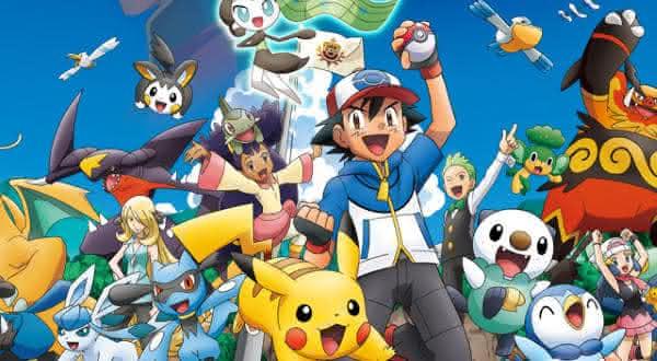 pokemon entre os melhores animes de todos os tempos