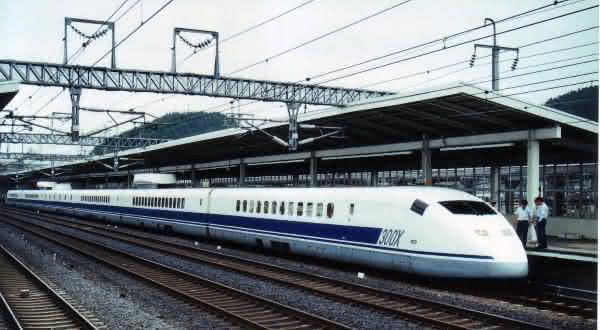 300X Shinkansen entre os trens mais rapidos do mundo