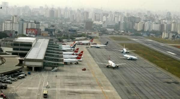Aeroporto Internacional de congonhas entre os aeroportos mais movimentados do brasil
