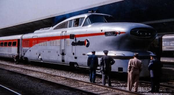 Aerotrain 1960 entre os trens mais rapidos do mundo