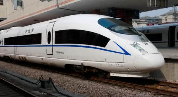 China Railway CRH380BL entre os trens mais rápidos do mundo