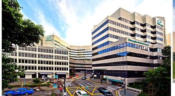Gleneagles Hospital entre os melhores hospitais do mundo