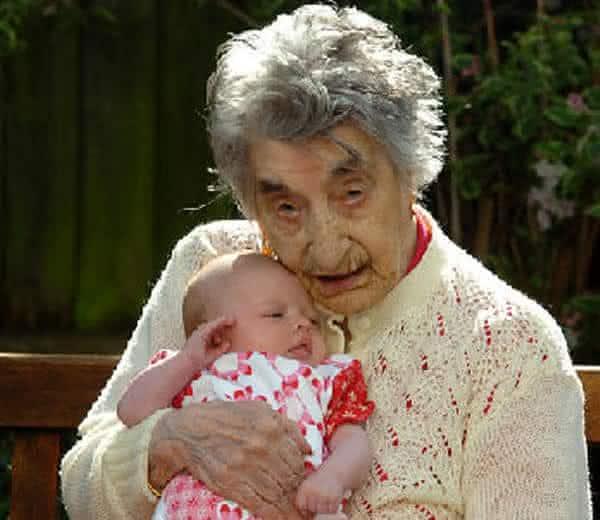 Lucy Hannah Meilleur entre as pessoas mais velhas da historia
