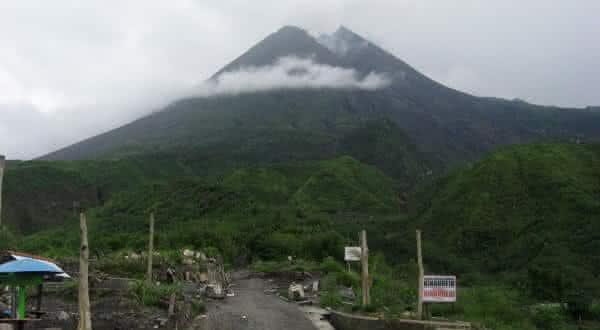 Mount Merapi entre os vulcoes ativos mais perigosos do mundo