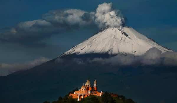 Popocatepetl entre os vulcões ativos mais perigosos do mundo