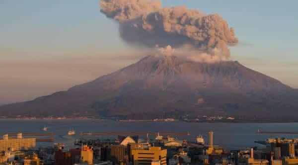 Sakurajima entre os vulcões ativos mais perigosos do mundo