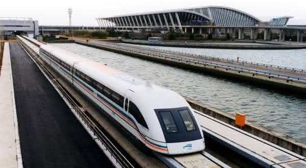 Transrapid SMT entre os trens mais rápidos do mundo