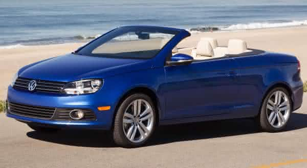 Volkswagen Eos Komfort entre os carros conversiveis mais baratos do mundo