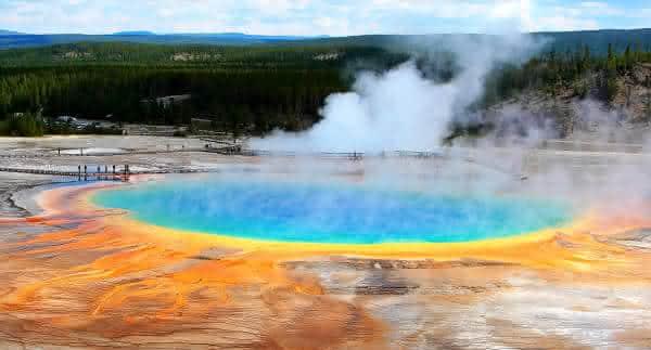 Yellowstone Caldera entre os vulcões ativos mais perigosos do mundo