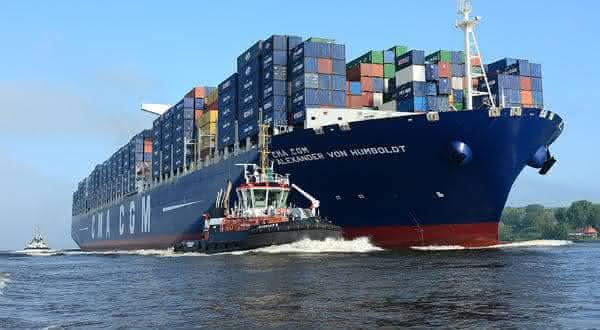 CMA CGM Alexander Von Humboldt entre os maiores navios ja construidos