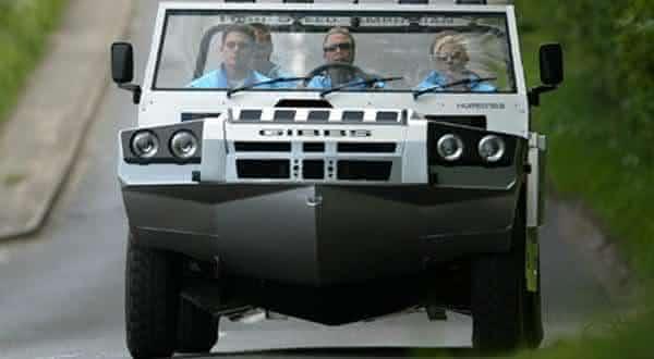 Gibbs Humdinga entre os mais incriveis carros anfibios 2