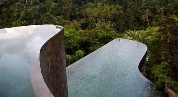 Ubud Hanging Gardens 2 entre as piscinas mais bonitas do mundo