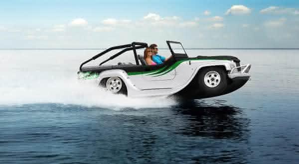 WaterCar Panther entre os mais incriveis carros anfibios