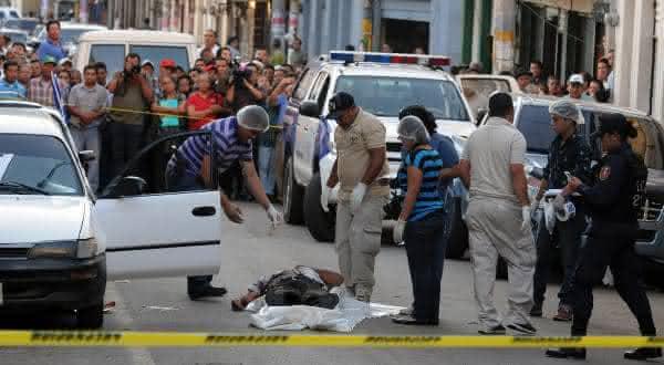 honduras entre os paises com mais mortes por homicidio