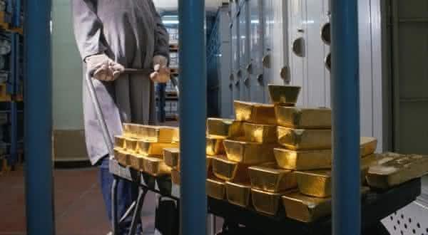 italia entre os paises com as maiores reservas de ouro do mundo