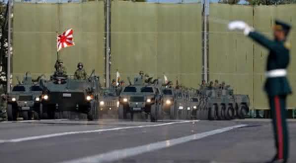 japao entre os paises com mais gastos militares