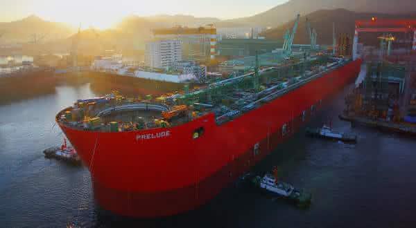 prelude entre os maiores navios ja construidos