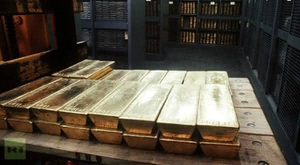 suica entre os paises com as maiores reservas de ouro do mundo