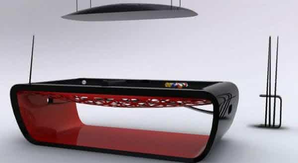 BlackLight Billiard Table 2 entre as mesas de sinuca mais caras do mundo