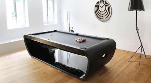 BlackLight Billiard Table entre as mesas de sinuca mais caras do mundo