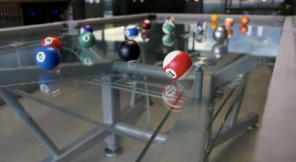 G-1 Glass Top 2 entre as mesas de sinuca mais caras do mundo