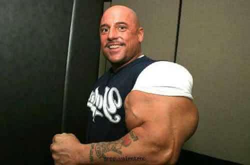 Greg Valentino entre os casos de abuso de esteroides anabolizantes