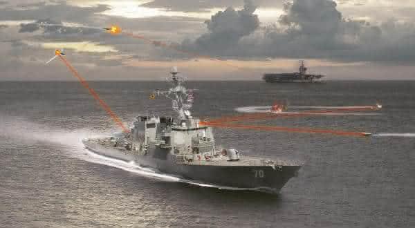 High Energy Liquid Laser Area Defense System entre  as futurísticas armas militares em desenvolvimento