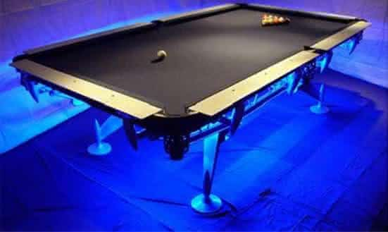 Martin Bauer Tournament 2 entre as mesas de sinuca mais caras do mundo