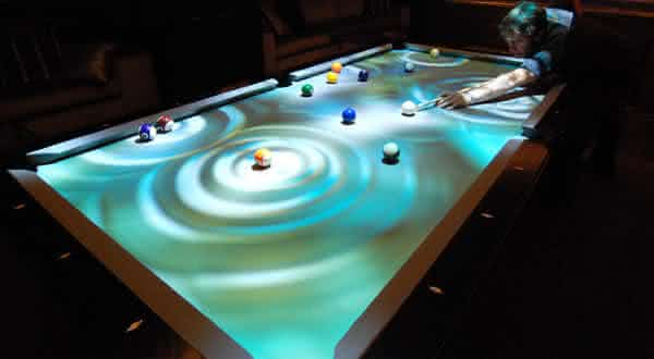 Obscura CueLight Pool Table entre as mesas de sinuca mais caras do mundo