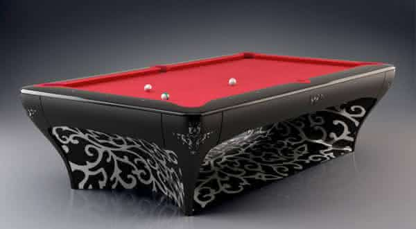 The Luxury Billiard entre as mesas de sinuca mais caras do mundo