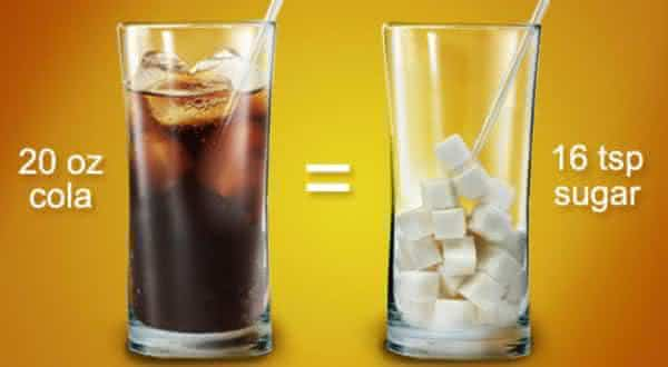 acucar entre as razoes para parar de beber refrigerante agora