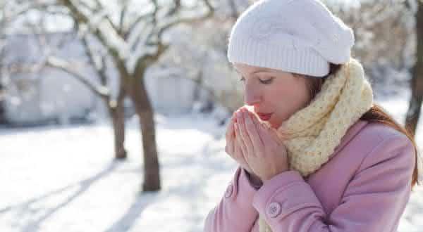 sensibilidade ao frio entre as alergias mais  estranhas