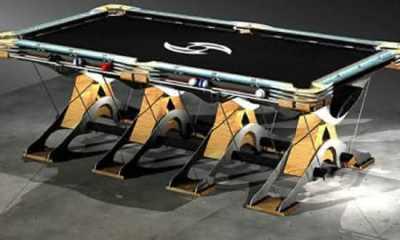 Top 10 mesas de sinucas mais caras do mundo