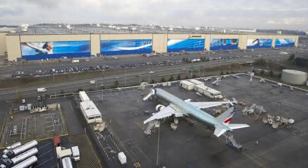 Boeing Factory in Everett entre as maiores fabricas do mundo