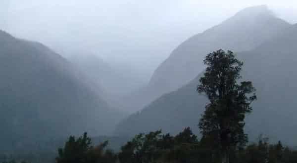 Cropp River lugares mais chuvosos do mundo
