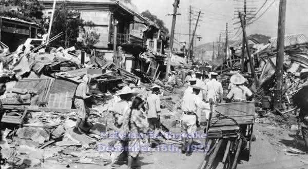 Haiyuan entre os terremotos mais mortais da historia