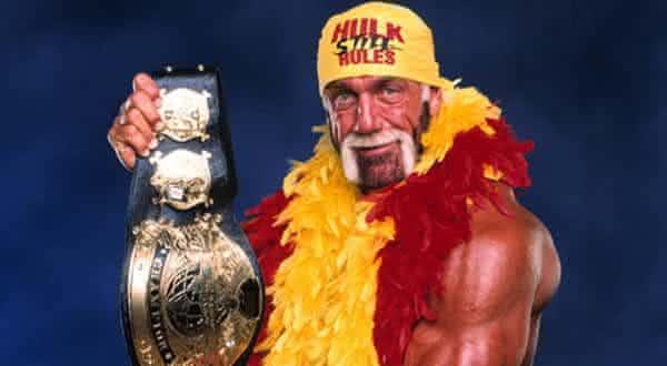 Hulk Hogan entre os maiores lutadores da historia da wwe