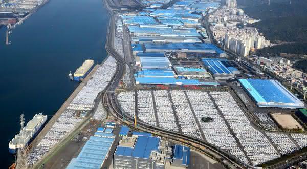 Hyundai Motor Companys Ulsan Factory entre as maiores fabricas do mundo