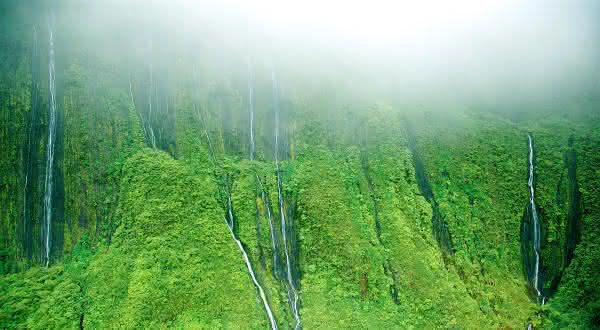 Kukui Hawaii  lugares mais chuvosos do mundo
