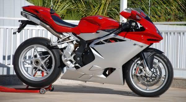 motos mais rápidas do mundo MV Agusta F4 1000S
