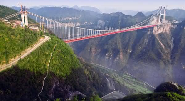 Ponte Aizhai entre as pontes mais altas do mundo
