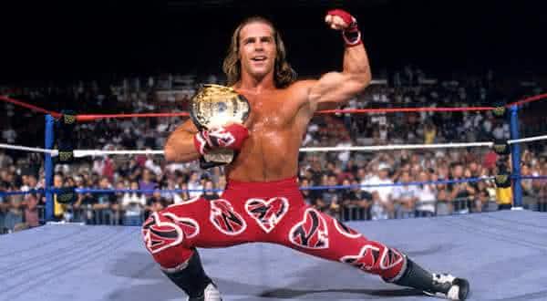 Shawn Michaels entre os maiores lutadores da historia da wwe