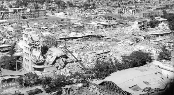 Tangshan entre os terremotos mais mortais da historia