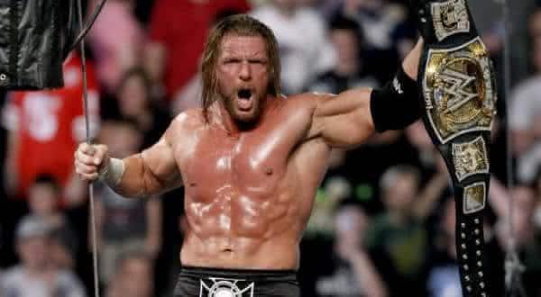 Triple H entre os maiores lutadores da historia da wwe